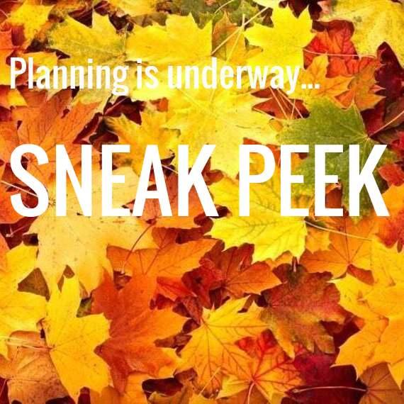 Fall folliage planning Sneak Peek Text