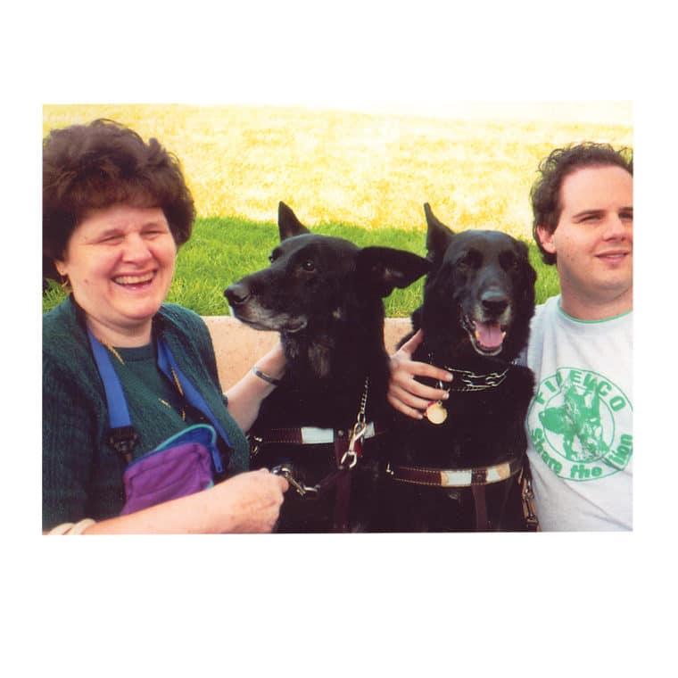 Photo of Linda W. and Kora