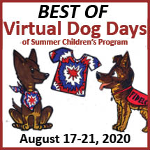 Best of Virtual Dog Days Event Logo